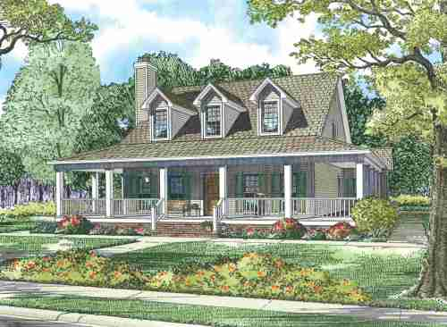 Medium Of House With Wrap Around Porch