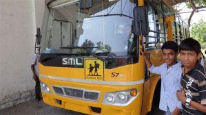 De nieuwe Schoolbus
