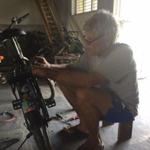 Reparatie van alle fietsen.
