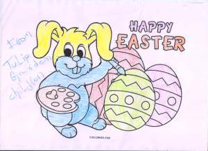 Easter drawing