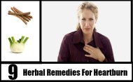 Top 9 Herbal Remedies For Heartburn