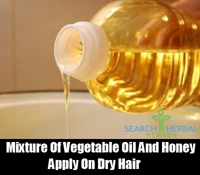 Vegetable oil and Honey
