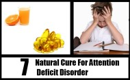 7 Natural Cure For Attention Deficit Disorder
