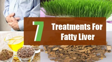 7 Treatments For Fatty Liver