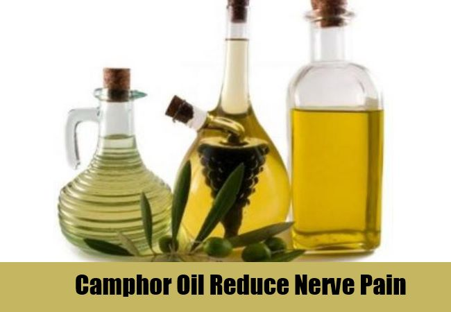 Camphor Oil Reduce Nerve Pain