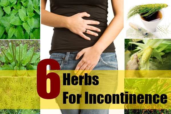 natural herbs for urinary incontinence