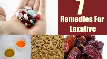 7 Remedies For Laxative