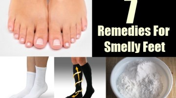 7 Remedies For Smelly Feet