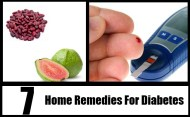 7 Home Remedies For Diabetes