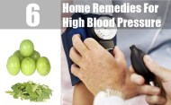 6 Best Home Remedies For High Blood Pressure
