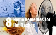 8 Home Remedies For Hot Flashes