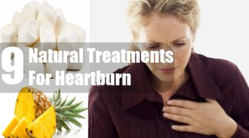 Natural Treatments For Heartburn