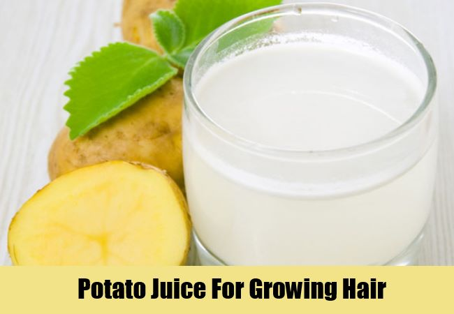Potato Juice For Growing Hair
