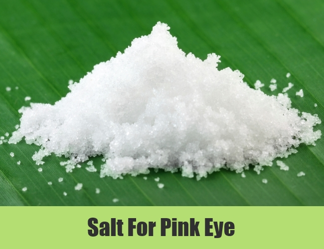 Salt For Pink Eye