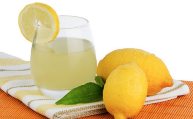 Use of Lemon Juice