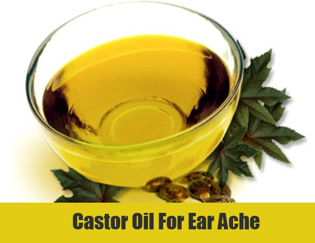 Castor Oil For Ear Ache