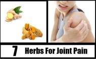 7 Curative Herbs For Joint Pain
