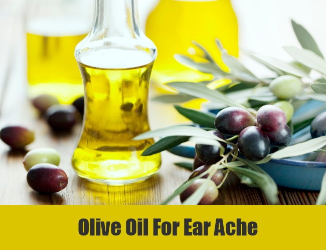 Olive Oil For Ear Ache