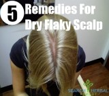 5 Remedies For Dry Flaky Scalp