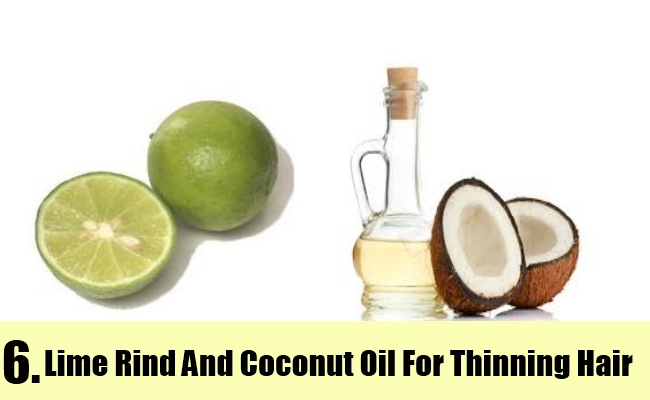 Lime Rind And Coconut Oil