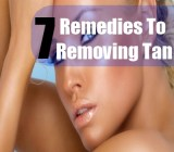 7 Remedies For Removing Tan