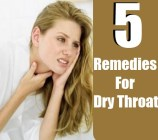 5 Easy Home Remedies For Dry Throat