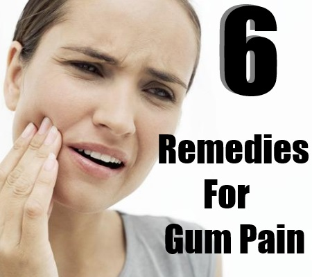 Remedies For Gum Pain