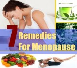 7 Remedies For Menopause