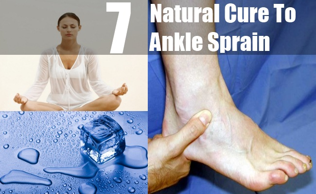 Twisted Ankle Natural Remedy