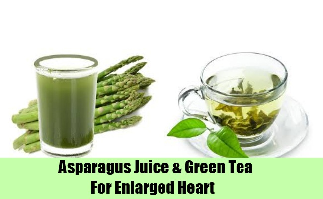 Asparagus Juice & Green Tea