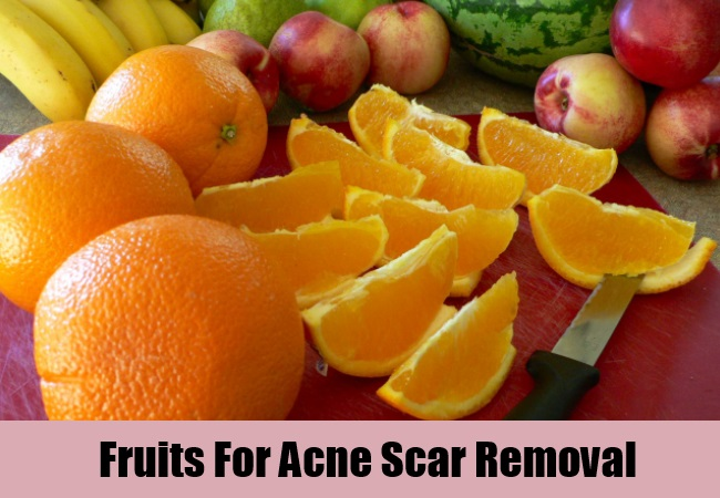 Fruits For Acne Scar Removal