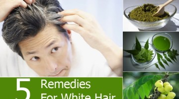 Remedies For White Hair
