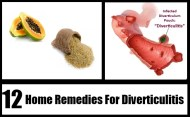 Top 12 Home Remedies For Diverticulitis