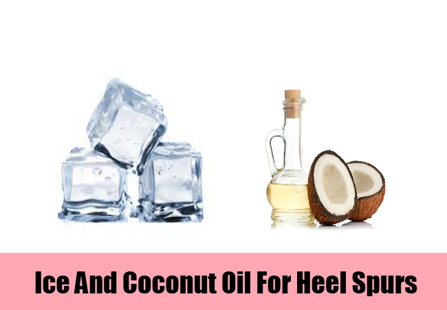 Ice And Coconut Oil