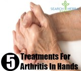 5 Treatments For Arthritis In Hands