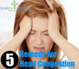 5 Remedy For Head Congestion
