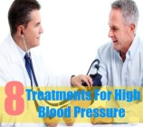 8 Treatments For High Blood Pressure