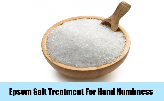 Epsom Salt Treatment