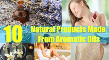 Natural Products Made From Aromatic Oils