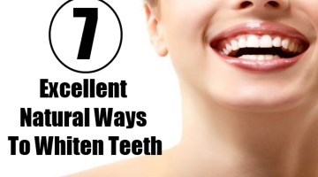 7 Excellent Natural Ways To Whiten Teeth