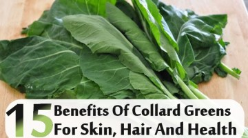 Benefits Of Collard Greens For Skin, Hair And Health