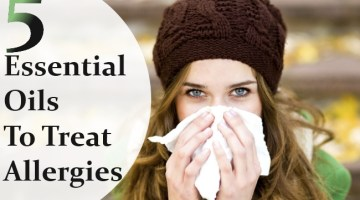 Essential Oils To Treat Allergies