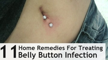 Home Remedies For Treating Belly Button Infection