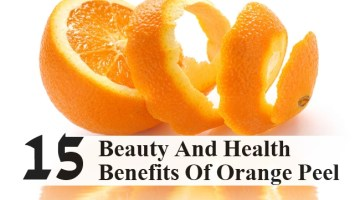 Beauty And Health Benefits Of Orange Peel