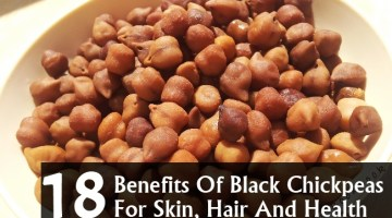 Benefits Of Black Chickpeas For Skin, Hair And Health