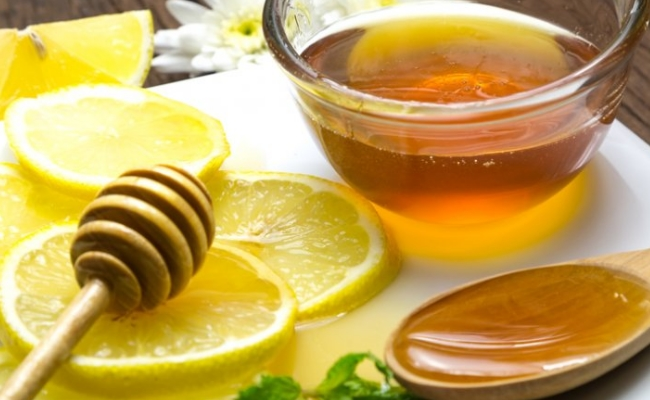 Drink Honey And Lime Water
