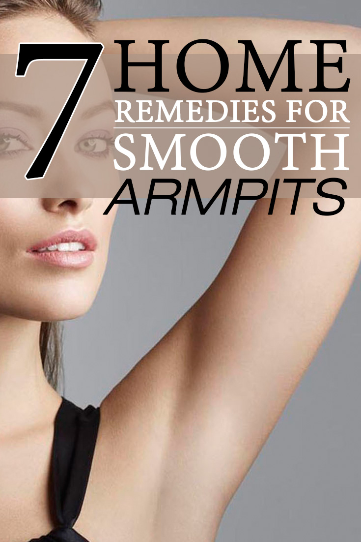 7 Home Remedies For Smooth Armpits