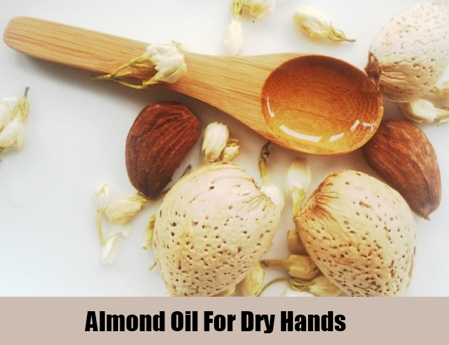 Almond Oil For Dry Hands