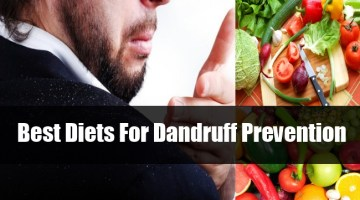 Best Diets For Dandruff Prevention