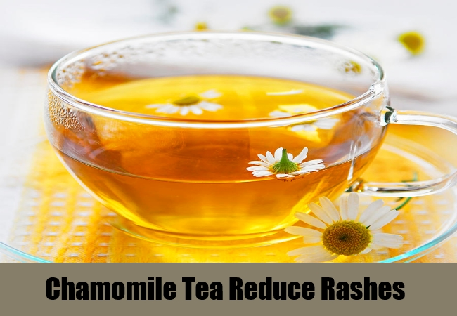 Chamomile Tea Reduce Rashes